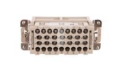Wkład stykowy do złączy przemysłowych 32-bieguny 4mm2 męski HC-BB 32-ESTC 1687480-21629