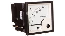 Amperomierz analogowy tablicowy 40A klasa 1,5 72x72mm EQ72 004805346-14475
