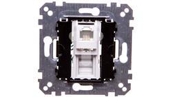 Merten Gniazdo telefoniczne pojedyncze RJ12 (6styków) MTN463500-26671