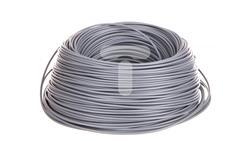 Przewód instalacyjny H05V-K 0,5 szary 29087 /100m/-32593