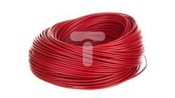 Przewód instalacyjny H05V-K 0,5 czerwony 29085 /100m/-32511