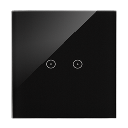 Panel dotykowy 1 moduł 2 pola dotykowe poziome, zastygła lawa-251715