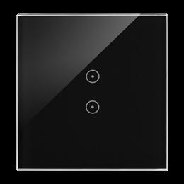 Panel dotykowy 1 moduł 2 pola dotykowe pionowe, zastygła lawa-251717
