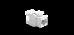 Wkład gniazda komputerowego RJ45 kat.5e, nieekranowany (UTP) biały-253111