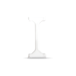 Wkładka uszczelniająca do łączników 2-klawiszowych IP44 biały-254329