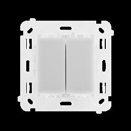Łącznik/Przycisk podwójny uniwersalny, 230V, 2x6A-251682