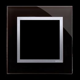 Ramka 1-krotna szklana księżycowa lawa-251466