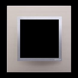 Ramka 1- krotna metalowa satynowy blask-251470