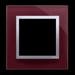 Ramka 1-krotna szklana kusząca śliwka-251462