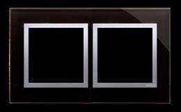 Ramka 2- krotna szklana księżycowa lawa-251486
