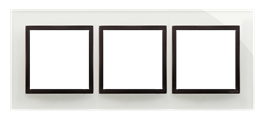 Ramka 3- krotna szklana burzowa chmura-251499