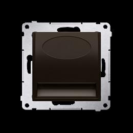 Oprawa oświetleniowa LED, 230V brąz mat, metalizowany-252804