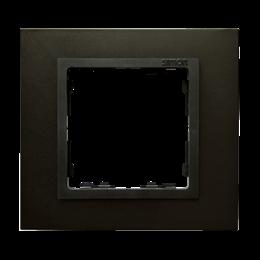 Ramka 1- krotna stal grafitowa / grafit-250906