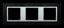 Ramka 3- krotna łupek / aluminium-250939