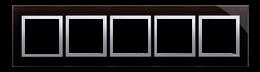 Ramka 5- krotna szklana księżycowa lawa-251548