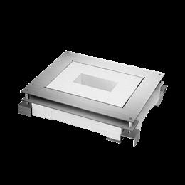 Kaseta do wylewki z metalu FB prostokątna 70mm÷100mm-255918