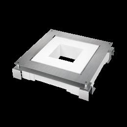 Kaseta do wylewki z metalu FB kwadratowa 70mm÷100mm-255920