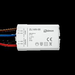 Zasilacz LED natynkowy 14V, DC,  8W.-252874