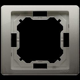 Ramka 1- krotna satynowy, metalizowany-253219