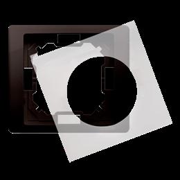Ramka 1- krotna IP44 czekoladowy mat, metalizowany-253257