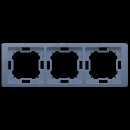 Ramka 3- krotna lawendowy, metalizowany-253277