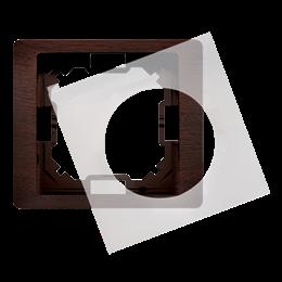 Ramka 1- krotna IP44 mahoniowy, hydrografika-253258