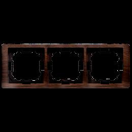 Ramka 3- krotna dębowy, hydrografika-253280