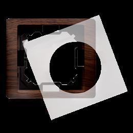 Ramka 1- krotna IP44 dębowy, hydrografika-253259