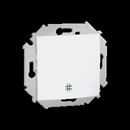 Łącznik krzyżowy (moduł) 10AX 250V, zaciski śrubowe, biały-254587