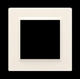 Ramka 1- krotna kremowy-254331