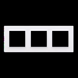Ramka 3- krotna biały-254342