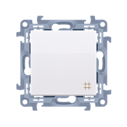 Łącznik krzyżowy biały 10AX-254370