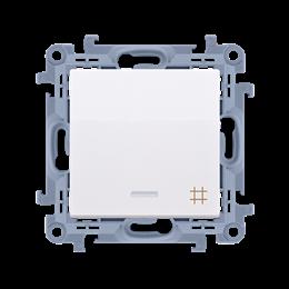 Łącznik krzyżowy z podświetleniem LED biały 10AX-254367