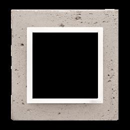 Ramka 1-krotna betonowa Al betone-251456