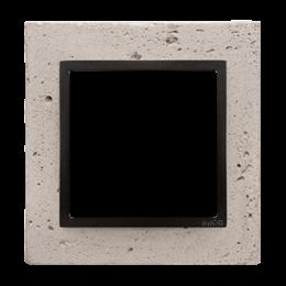 Ramka 1-krotna betonowa Funda mente-251458