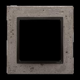 Ramka 1-krotna betonowa Szorstka przyjaźń-251477