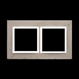 Ramka 2-krotna betonowa Al betone-251500