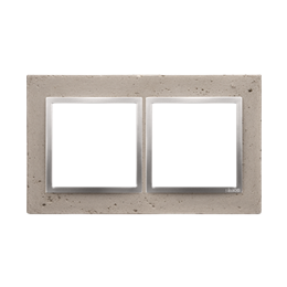 Ramka 2-krotna betonowa Butti cementi-251501