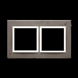 Ramka 2-krotna betonowa La stryko-251503