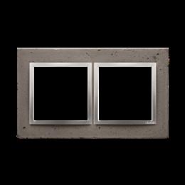 Ramka 2-krotna betonowa Mokra robota-251504