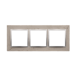 Ramka 3-krotna betonowa Butti cementi-251519