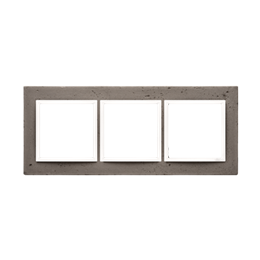 Ramka 3-krotna betonowa La stryko-251514