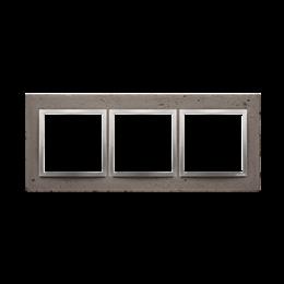 Ramka 3-krotna betonowa Mokra robota-251512