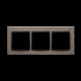 Ramka 3-krotna betonowa Szorstka przyjaźń-251509
