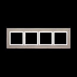 Ramka 4-krotna betonowa Al betone-251535