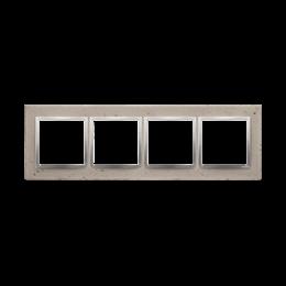 Ramka 4-krotna betonowa Butti cementi-251534