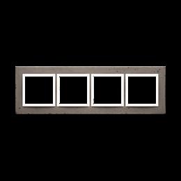 Ramka 4-krotna betonowa La stryko-251532