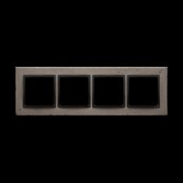 Ramka 4-krotna betonowa Szorstka przyjaźń-251555