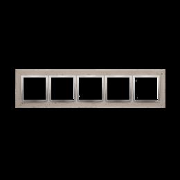 Ramka 5-krotna betonowa Butti cementi-251576