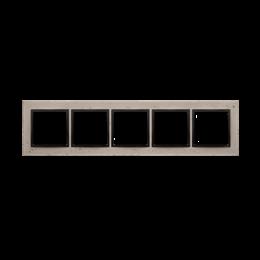 Ramka 5-krotna betonowa Funda mente-251577